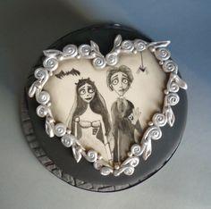 Corbs bride cake Brides Cake, Wedding Pie Table, Sugar