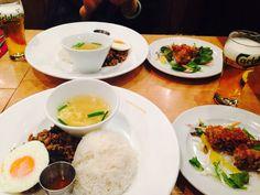 Thai lunch in Shinagawa