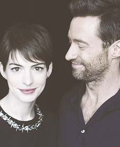Darling pic of Anne and Hugh Jackman!