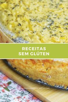Receitas Sem Glúten | EmagrecerCerto.com #receitas #semgluten #saudavel #funcional Dairy Free Recipes, Low Carb Recipes, Cooking Recipes, Healthy Recipes, Lactose Free, Sin Gluten, Coco, Food And Drink, Macaroni And Cheese