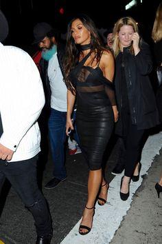 Lovely Ladies in Leather: Nicole Scherzinger
