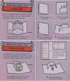 With POP-UP: Everything You Need to Know to Create Your Own Pop-Up Book by Ruth Wickings and Frances Castle have created the perfect all-in-one book for kids who like to create. Instructions are clear and simple, pages are perforated so pop-ups pop out easily, making paper enginieering accessible to everyone.