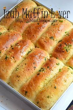 Roti Bread, Bread Bun, Bread Cake, Soft Bread Recipe, Roti Recipe, Cooking Bread, Bread Baking, Cooking Recipes, Garlic Fingers