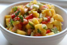 Strawberry Mango Salsa