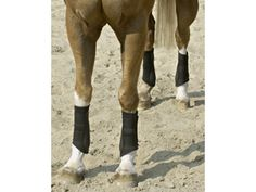BRUSHING BOOTS Brushing Boots are worn by the horse in order to protect the whole of the inside of the leg below the knee including the fetlock joint