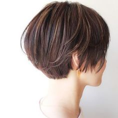 Multiple Messy Layers - 40 Bold and Beautiful Short Spiky Haircuts for Women - The Trending Hairstyle Haircut For Thick Hair, Short Hair With Bangs, Short Hair With Layers, Hairstyles With Bangs, Short Bob Hairstyles, Short Hair Cuts, Short Hair Styles, Asian Bob Haircut, Mandy Moore Short Hair