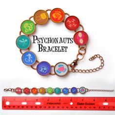 Psychonauts Merit Badge Bracelet, $11.00