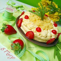 Torta mimosa x la festa delle donne