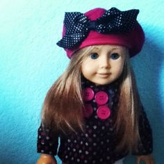 I love amarican girls because the dolls chlothes .too cute!!!