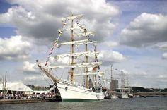 Le Cuauhtemoc, un grand navigateur mexicain
