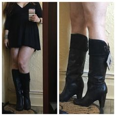 Frye Leather mid calf brand new black boots Gorgeous pair of brand new leather Frye boots. Frye Shoes