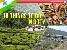 """One of the most popular hill station in south is the """"Queen of Hills"""", #Ooty. The scenic beauty of lofty mountains, lush green tea-gardens and huge grasslands that adorns this small city is absolutely mesmerizing."""