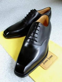 If you could own only one pair of dress shoes, these John Lobb black lace-up would be it.
