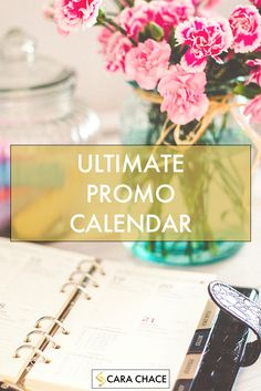 Free Ultimate Promo Calendar for Content Marketing by Cara Chace http://www.carachace.com/ultimate-promo-calendar/