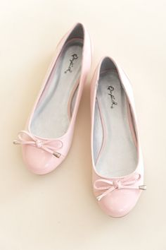 Bow on Ballerina Flat