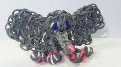 Rainbow Loom® Olifant Maken? Bekijk de Instructievideo op Rainbow-Loom.nl en maak stap-voor-stap de Rainbow Loom® Olifant.