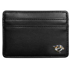 """Checkout our #LicensedGear products FREE SHIPPING + 10% OFF Coupon Code """"Official"""" Arizona Coyotes Weekend Wallet - Officially licensed NHL product Genuine fine grain leather wallet 3 credit card slots, inner pocket for cash Super slim wallet Arizona Coyotes silk screened logo - Price: $18.00. Buy now at https://officiallylicensedgear.com/arizona-coyotes-weekend-wallet-hww45"""