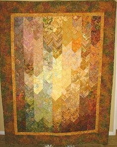Autumn Batik Braid Quilt