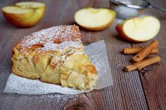 dsc05687 - 180°C di Dolcezza Low Carb Breakfast, Breakfast Time, Holiday Desserts, Fun Desserts, Dessert Ideas, Ricotta, Apple Cake Recipes, Apple Cakes, Plum Cake