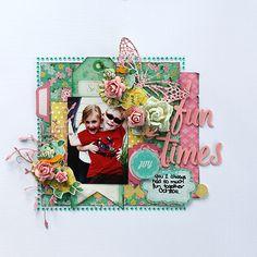 Crate Paper Little Bo Peep Layouts by Susan Longman « Anna's Craft Cupboard