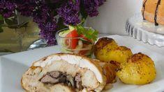 Kuracia roláda z parného hrnca Baked Potato, Camembert Cheese, Ale, Tacos, Dairy, Potatoes, Baking, Ethnic Recipes, Food