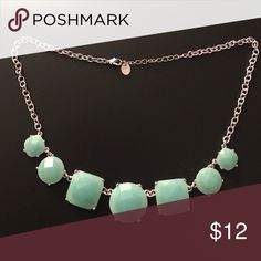 Statement Piece Aqua Color Costume Jewelry Claire's Jewelry Necklaces