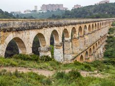 Ancient Roman Aquaducts - The Romans constructed numerous aqueducts in order to bring water from distant sources into their cities and towns, supplying public baths, latrines, fountains and private households. Waste water was removed by complex sewage systems and released into nearby bodies of water, keeping the towns clean and free from effluent.