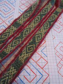 Tablet weaving from Estonia. Inkle Weaving, Inkle Loom, Card Weaving, Tablet Weaving Patterns, Thread Art, Little Star, Craft Fairs, Fiber Art, Ravelry