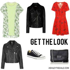 Get the Look: Leather and Floral