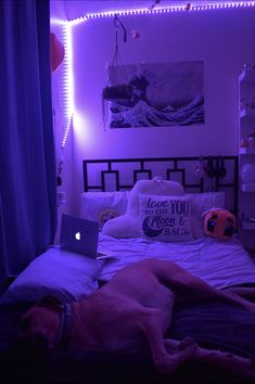 Neon Bedroom, Cute Bedroom Decor, Bedroom Decor For Teen Girls, Room Design Bedroom, Teen Room Decor, Room Ideas Bedroom, Dream Teen Bedrooms, Teen Girl Rooms, Chill Room