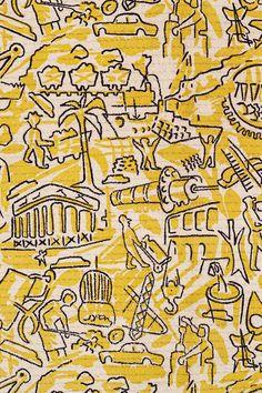Tibor Reich - so enjoyed exhibition @ Whitworth Gallery Textile Prints, Textile Patterns, Textile Design, Textile Art, Fabric Design, Print Patterns, Textiles, Whitworth Gallery, Fabric Rug