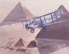 "DeHAVILLAND DH66 HERCULES ""City of Cairo"""