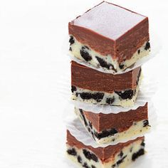 Twitter / YourFoodPorn: Double Decker Oreo Fudge ...