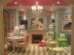 perfect little girls playroom--- oh my stars this is darling!!!!