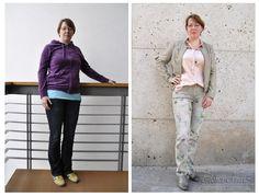 Hier der direkte vorher/nachher -Vergleich. #Stilberatung #Styling #Style-Check #stilberaterin #reutlingen