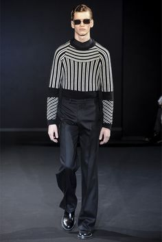 """Les Hommes: There were a few """"optical illusions"""" on the runway."""