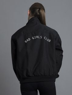 Featuring a full lining, classic cut and two front pockets it's a must have addition to any wardrobe. A thicker outer fabric and brushed lining makes it durable and easy to wear. Featuring 'Bad Girls