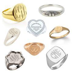 Trend We Love: Signet Rings