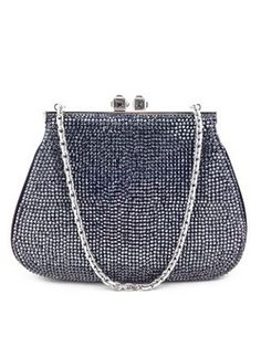 #JudithLeiber #black #crystal #swarovski #eveningbag #clutch #purser #bagoftheday #bagporn #fashion #couture