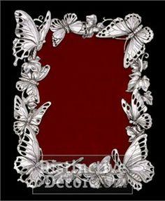 arthur court butterfly platter | court designs metal serveware arthur court designs butterfly metalware ...