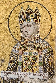 Zoe, Byzantine Empress Consort, Hagia Sophia, Istanbul, c.1020  http://www.pinterest.com/lunia57/bizantinebizancjum/