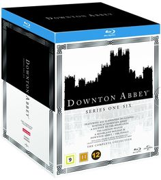 Downton Abbey: Complete Box  - Sesong 1-6 (Blu-ray) (22 disc)