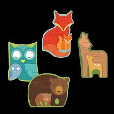 cute forest animal puzzle