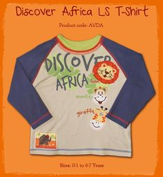 Discover Africa T-Shirt {Boys} only in $21.99
