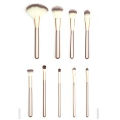 High Quality Professional12 PCS Cosmetic Facial Make Up Brush Kit  Makeup Brushes Tools Set Brush With PU Leather Case Professional Makeup Brush Set