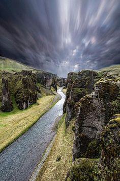 euph0r14:  landscape | Storm in Iceland. | by didiervar83 |...