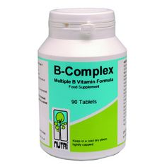 Manufacturer: Nutri, Product: B Complex, Category: Vitamins, Price: £14.5, Buy on-line today  www.tonicvitamins.com