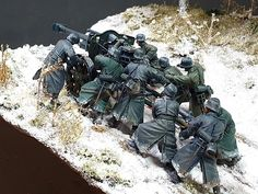 Military Figures, Military Diorama, Battle Of Moscow, Lead Adventure, Model Tanks, Military Modelling, Miniature Crafts, Stop Motion, World War I