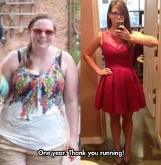 What running can do to your health… One year