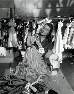 Le Théâtre de la Mode, Eliane Bonabel, the designer of the dolls